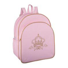 A Mochila Maternidade G Royale Rosa tem um tamanho ótimo para as mamães de princesa irem para a maternidade ou para o dia a dia com a pequena!