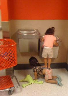 true friend  - looks like target, but this could so be at school.  Love it !
