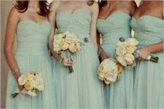 Love this color for bridesmades dress