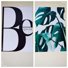 Decoración con posters | Café largo de ideas - Decoración, reciclaje, DIY, blogging
