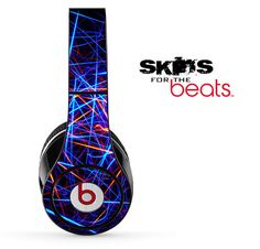 Neon Strobe Light Skin for the Beats by Dre Studio by TheSkinDudes