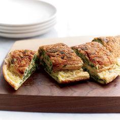 Mushroom And Fontina Omelet Recipe — Dishmaps