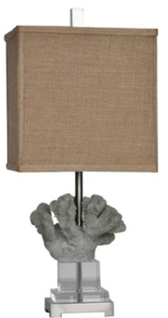 Blue Coral Reef Table Lamp, memories of a tropical escape!