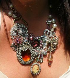 Beautiful one ofva kind statement necklace