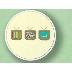 modern cross stitch patterns free - Google Search