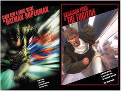 DC's movie themed comic book covers - Batman Superman