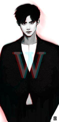 anime, korean, and kdrama image
