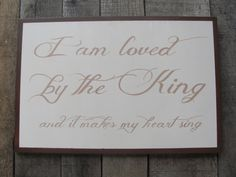 Hand painted wooden sign wooden sign by ourhousetoyours on Etsy, $68.00