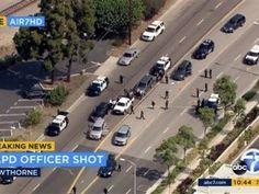 Sospechoso trasmite en Facebook tiroteo con la policía de LA