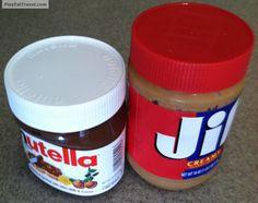 #Nutella vs #Jif!  #food #foodie #eat #meal #dish