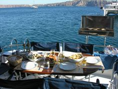 Enjoy Power Catamaran Meal