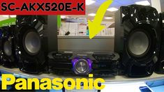 Panasonic AKX520 Perfect Party System 650w High Power Audio System 2020 ... Any Music, Your Music, In Sync, Audio System, Perfect Party, Music Lovers, Karaoke, The Unit, Digital