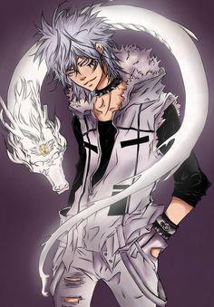 Byakuran. Kind of a bad guy, but I still like him.