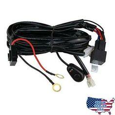 Sponsored Ebay Senlips Light Bar Universal Wiring Harness 10ft 12v 40a Wiring Harness Kit Rel Jeep Led Light Bar Led Work Light Bar Lighting