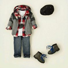 Luv this outfit!! My future  baby boys outfit!!