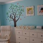 I like this large dresser as changing table...it's nice to have room for diapers and wipes on the same surface