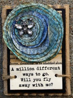 ATC - Fly Away With Me (Traded) by Crae's, via Flickr