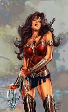 Wonder Woman by Manny Clark Colors by Michele Nogueira