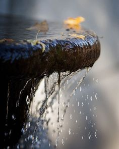 Water flowing from a fountain GIF Rain Photography, Creative Photography, Amazing Photography, Rain Gif, Foto Gif, I Love Rain, Photo Print, Cinemagraph, Gif Pictures