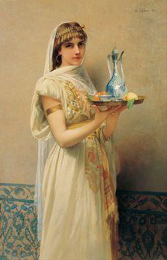 Servant ~ Jules Joseph Lefebvre 1880