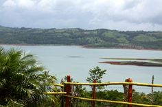 Lake Arenal from Cafe Macadamia, Costa Rica