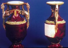 Titanic Debris Field | Dragon-handled vase. It is from the first class lounge.