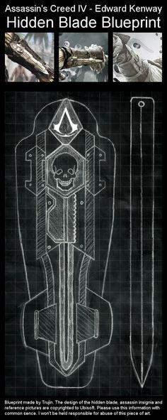 Assassin's Creed IV - Edward Kenway - Hidden Blade
