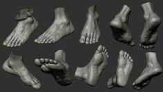 anatomy leg study , amruth raju on ArtStation at https://www.artstation.com/artwork/yJRk8