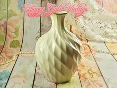 Lenox Vase, Large Ivory Lenox Vase, Vintage Porcelain Lenox Vase, White Porcelain Vase, Vintage Off-White Vase, Housewarming Gift Vase