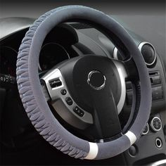 NewLove Universal Fits Most Car Styling Steering Wheel Non Slip Women Cute Plush Car Steering Wheel Cover -- Awesome products selected by Anna Churchill