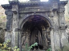 A tomb in Greyfriars Kirkyard cemetary in Edinburgh, Scotland.