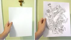 How to hand draw a flawless fabric repeat from Design Sponge