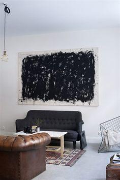 Binnenkijken in een appartement in het Zweedse Stockholm / www.woonblog.be
