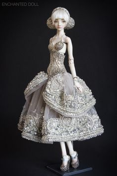 Cinderella - Enchanted Doll by Marina Bychkova
