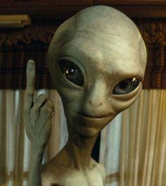 Meet paul, from the movie paul. also an alien! freaking awesome alien unlike… Arte Alien, Alien Art, Paul The Alien, Paul 2011, Alien Photos, Aliens And Ufos, Crop Circles, Illustrations, Great Movies
