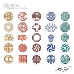 中国风边框底纹 Chinese Patterns, Japanese Patterns, Icon Design, Logo Design, Chinese Element, Japon Illustration, Chinese Design, Chinese Style, Chinese Symbols