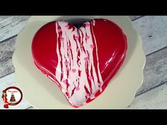 Torta con Glassa a Specchio Colorata - YouTube