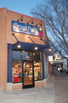 Crackpots Pottery Studio :: Downtown Longmont, CO
