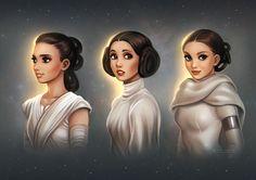 """Star Wars: Generations"" by #daekazu (Daniel Kordek) daekazu.deviantart.com on @DeviantArt #StarWars"