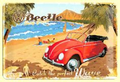 vw on the beach | exciting than driving with your music turned up listening to the Beach ...