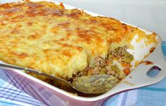 Citromhab: Pásztorpite - Shepherd's pie Hungarian Recipes, Hungarian Food, Looks Yummy, Recipes From Heaven, My Recipes, Lasagna, Food And Drink, Pie, Breakfast