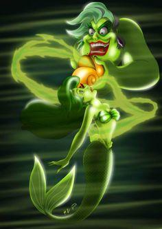 Disney villain- Ursala- I HATE Ursala..i know hate is a strong word but i really do