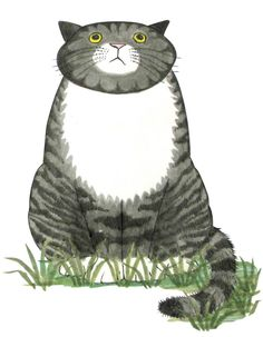 Mog the Forgetful Cat. I loved Mog as a child, I love her more now that she is every cat I've ever loved.
