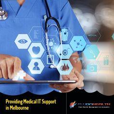 We provide complete #ITSupport for #MedicalPractice in #Melbourne - #Flyonhealth