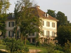 """The Villa Diodati, where Percy Shelley, Mary Wollstonecraft Godwin, Lord Byron and John Polidori wrote ghost stories, eventually leading to the publishing of """"Frankenstein"""""""