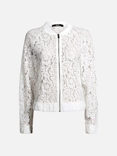 Wendy jacket | | Offwhite | BikBok | Sverige