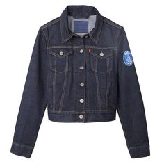 Girls!! Be fashion while supporting your club! Two in one for Paris Saint-Germain   VESTE TRUCKER DENIM PSG X LEVIS - FEMME