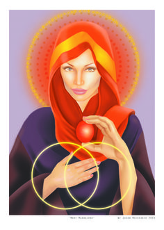 Mary Magdalene Art Print by Jason Mccreadie 2014 Sacred Feminine, Feminine Energy, Divine Feminine, Mary Magdalene And Jesus, Kyle Gray, Spiritual Images, Esoteric Art, Visionary Art, The Magicians