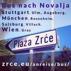 Bus nach Novalja // Strecke 1: Stuttgart Ulm Augsburg München Rosenheim Salzburg Villach // Strecke 2: Wien Graz #Ulm #Augsburg #München #Rosenheim #Salzburg #Villach #Wien #Graz #Partyurlaub #Partybus #bus #zrce #novalja #otokpag #inselpag #partybeach #summer #festival #zrcebeach #croatia #kroatien #hrvatska #beach #partyurlaub
