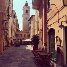 Bordighera (Imperia, Ligurie, Italie). Old village